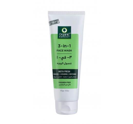 Organic 3 in 1 Facewash