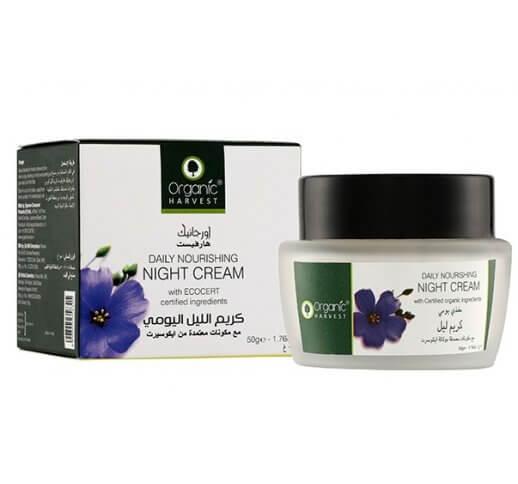 Organic Daily Nourishing Night Cream