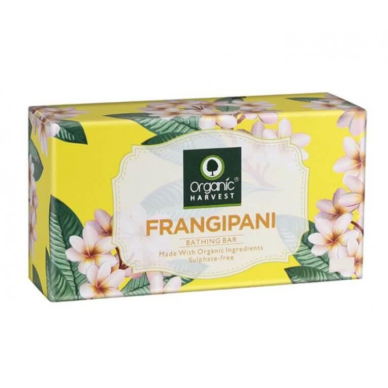 Organic Frangipani Bathing Bar Soap