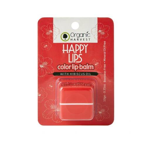 Organic Hibiscus Lip Balm 10 GM