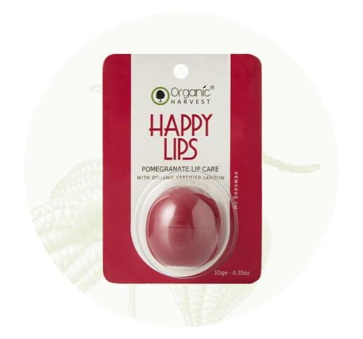 Organic Pomegranate Lip Balm