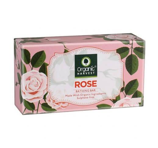 Organic Rose Bathing Bar Soap