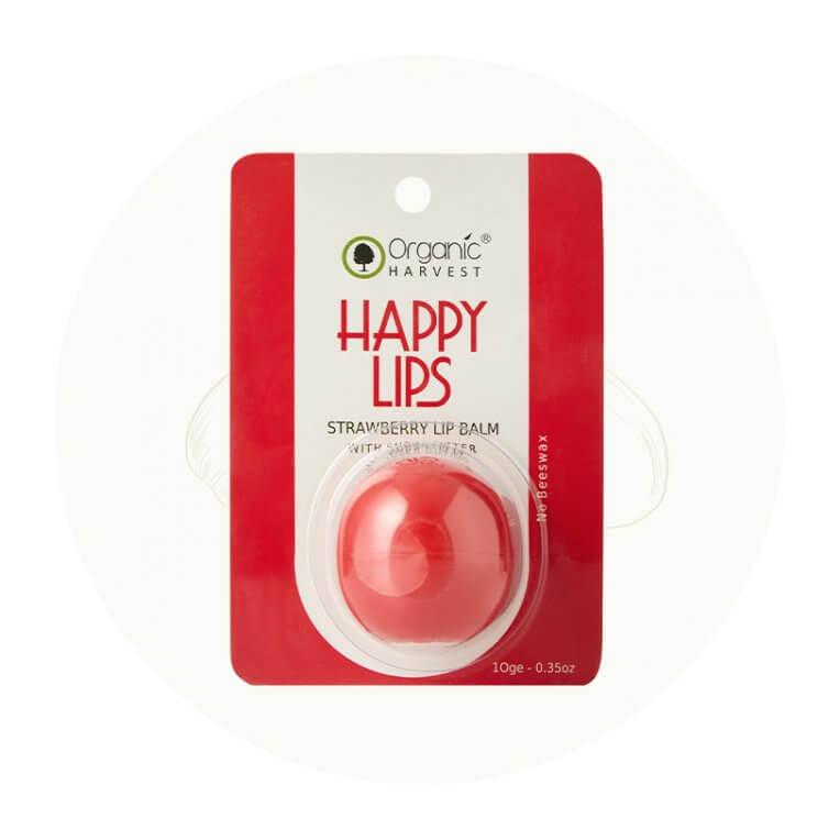 Organic Strawberry lip balm