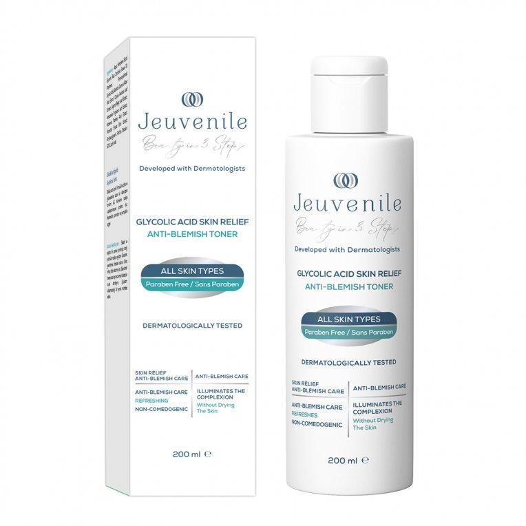 Glycolic Acid Skin Relief Anti Blemish Toner 200 ML