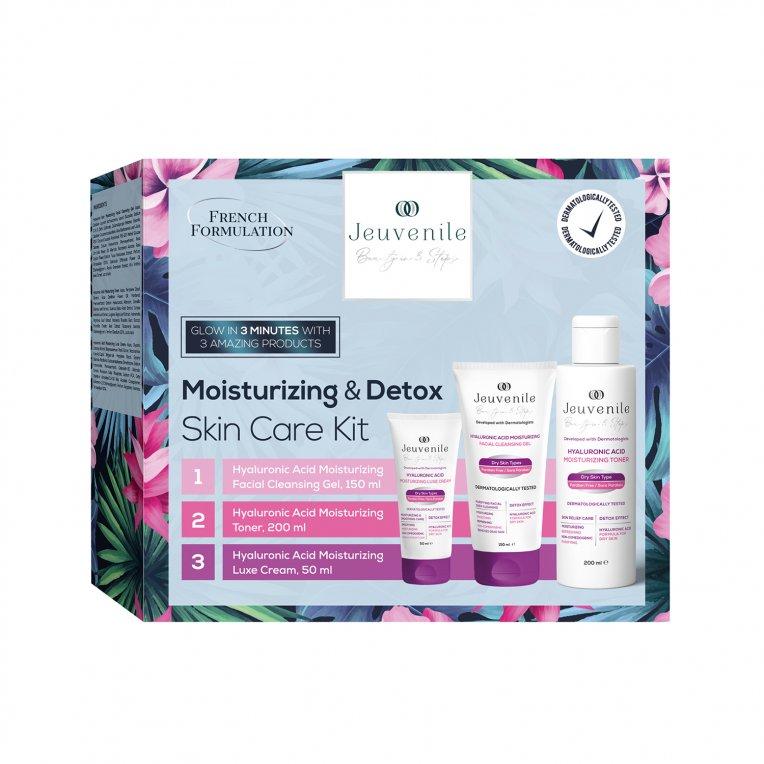 Moisturizer & Detox Skin Care Set (150ML + 200ML +50ML)
