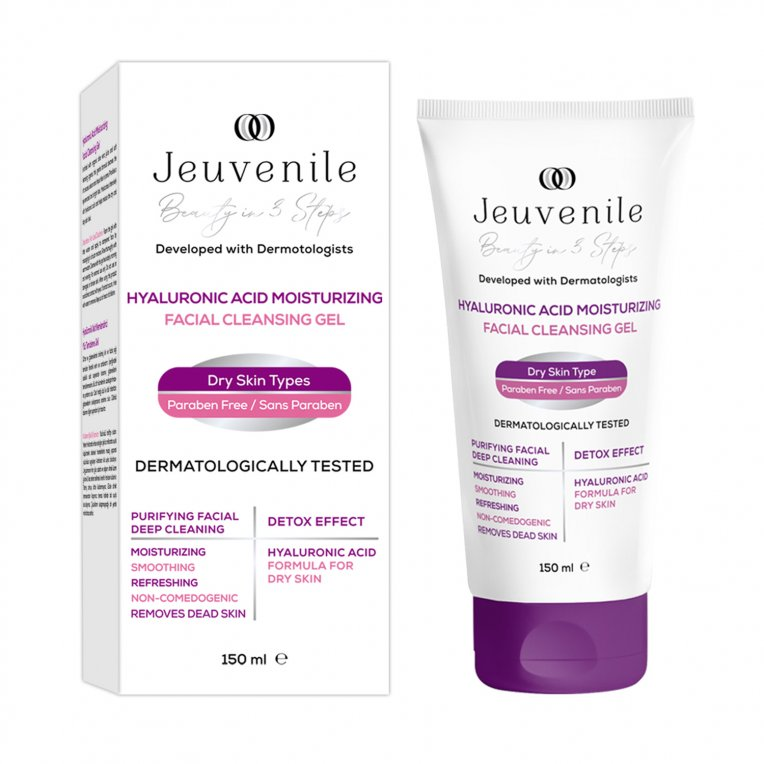 Hyaluronic Acid Moisturizing Facial Cleanse Gel 150 ML