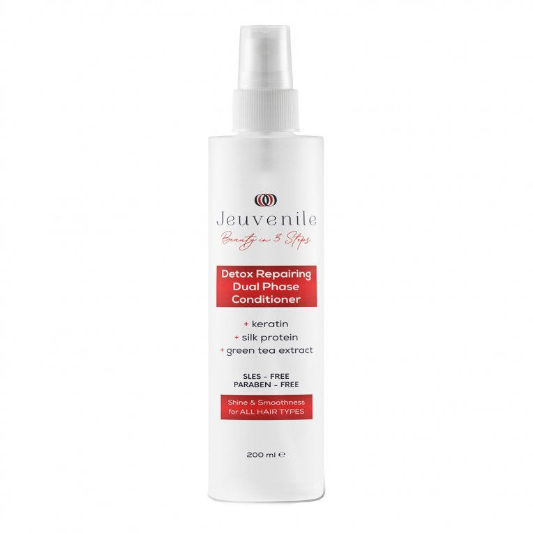 Silk Protein Detox Repairing Dual Phase Conditioner For All Hair Types