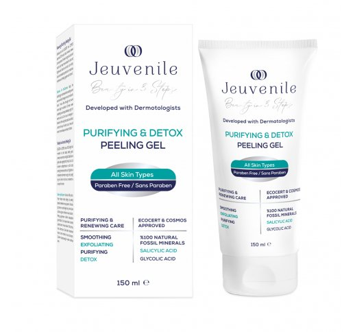Renewing & Purifying 100% Natural Fossil Mineral Peeling Gel 150 ML