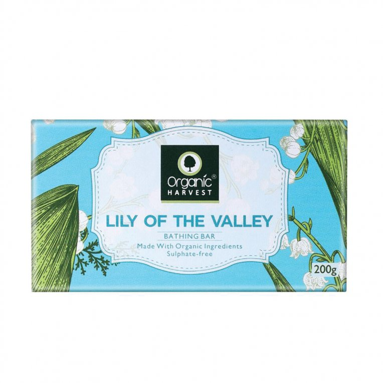 Organic Lily Of The Valley Bathing Bar
