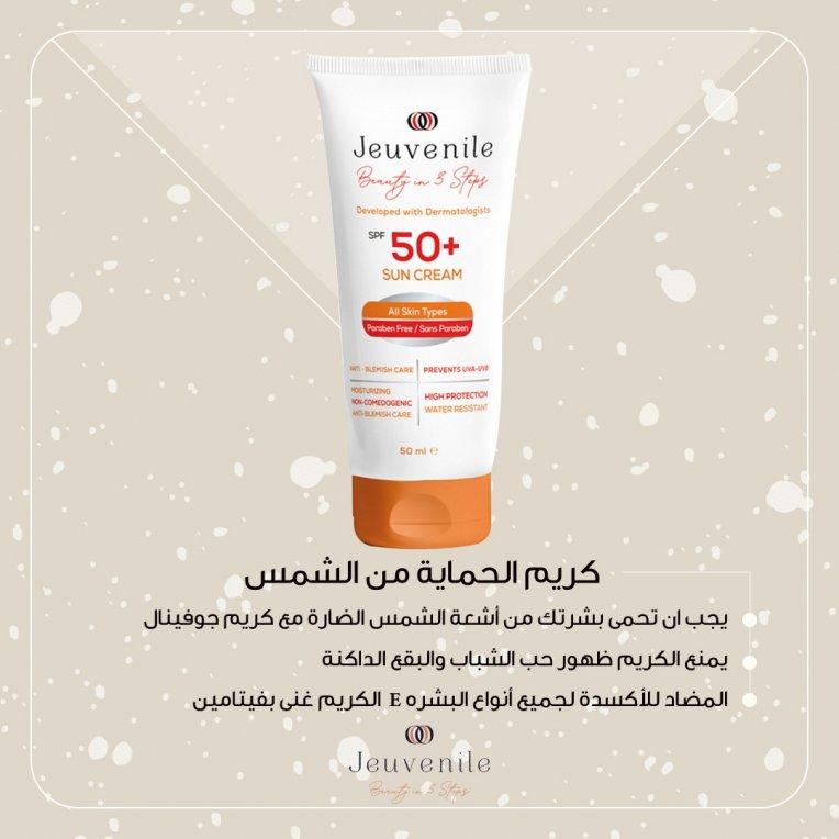 SPF 50+ Anti Blemish High Protection Sun Cream 50 ML