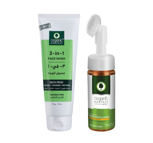 Masseuscious Damage Control Cleanser And 3 In 1 Face Wash Skin Care Set